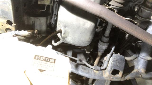 古いエンジンオイル